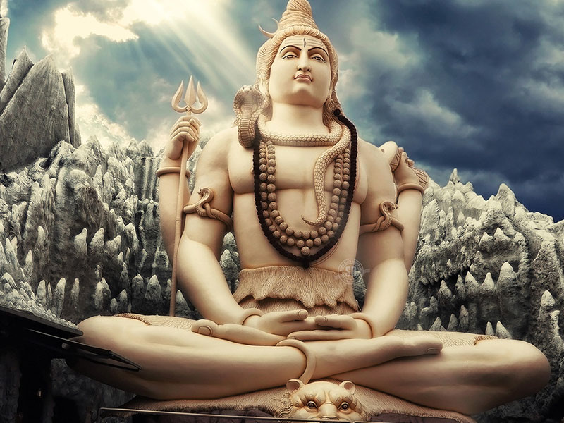 The Most Powerful Shiva Statue in the World