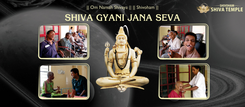 Shiv Gyani Jan Seva at Shivoham Shiva Temple